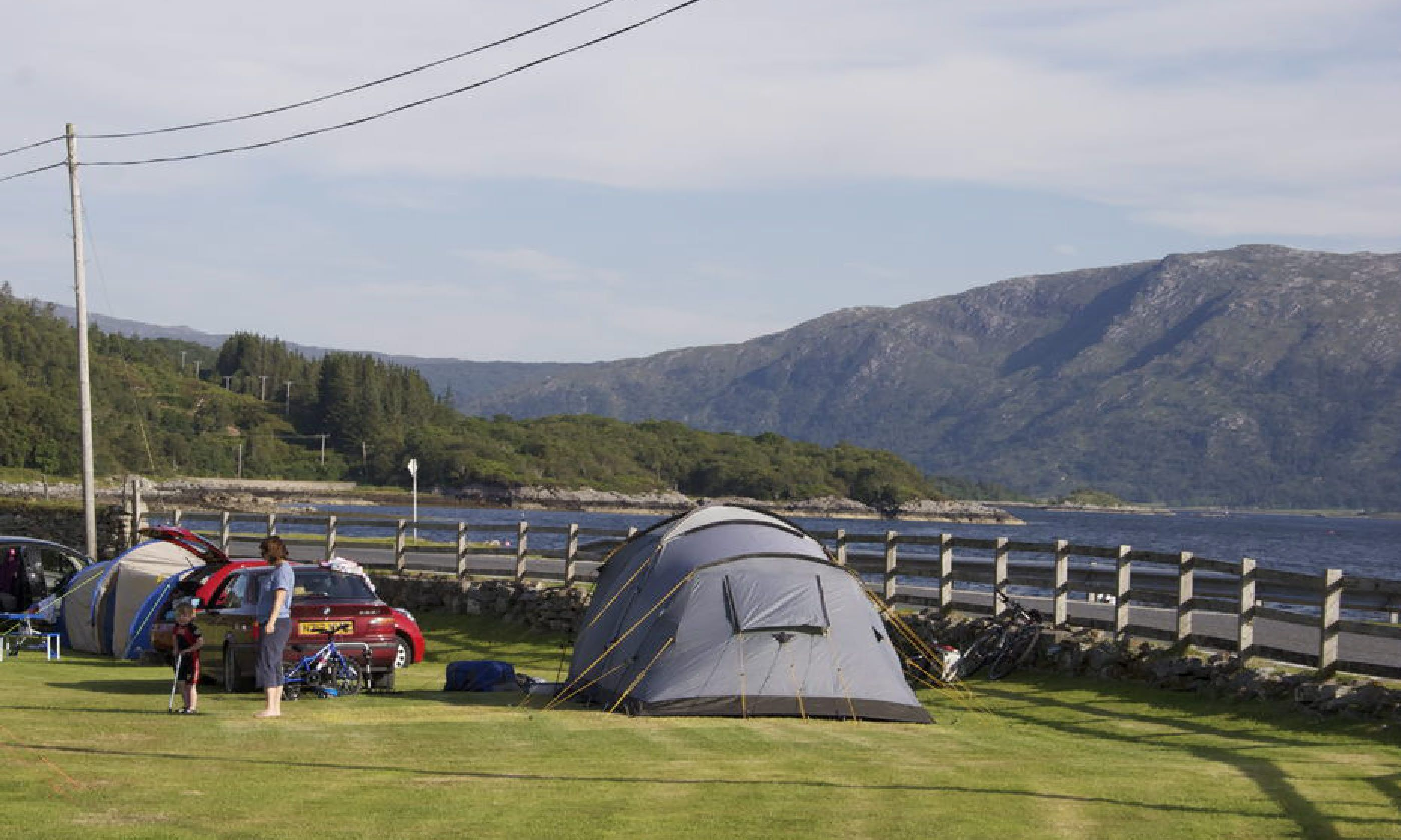 Whats Allowed Tents Campervans Caravans Groups Families And Active Campers Yes Amenities 60 Hardstanding Grass Pitches All With Superb Views