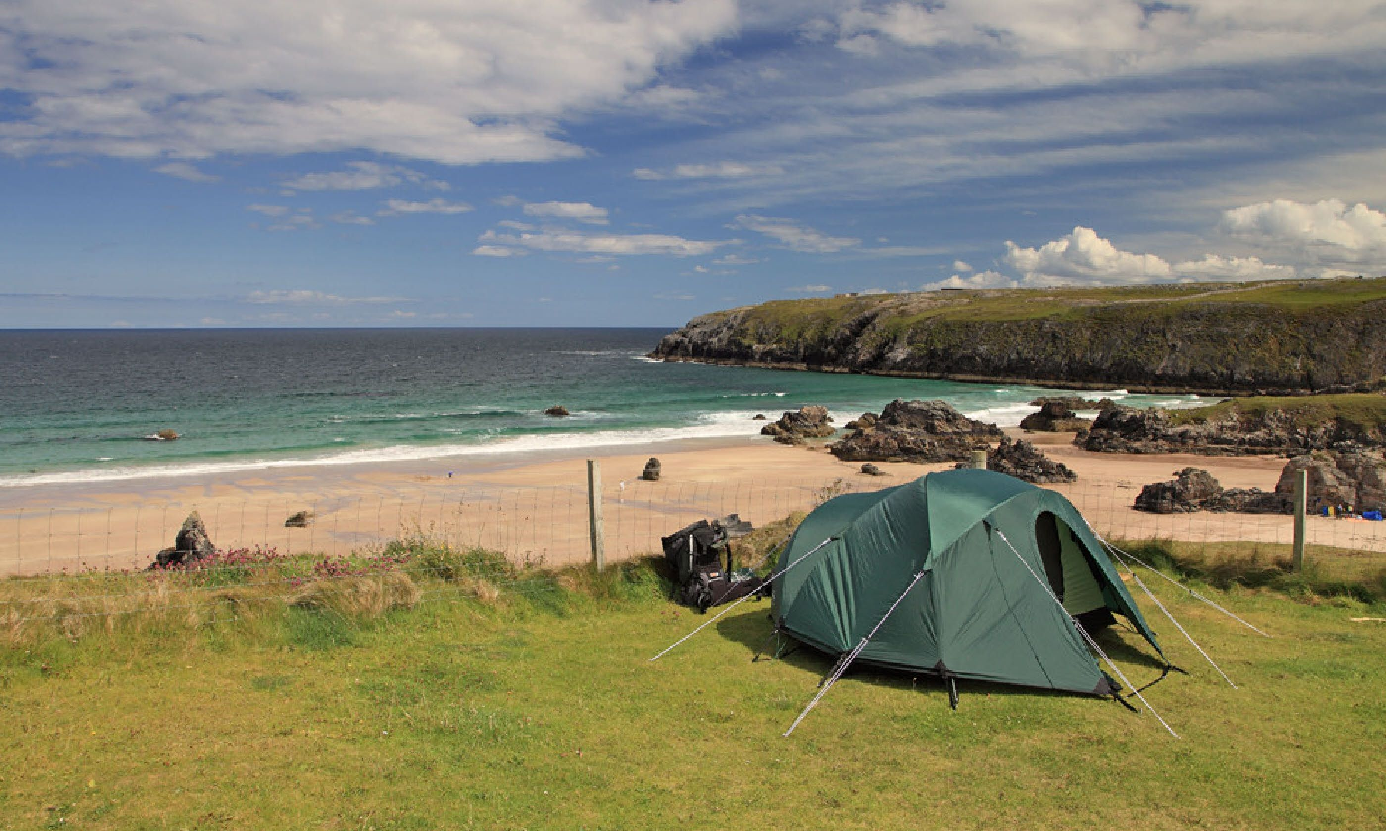 ... highest sea cliffs in Britain and a thrilling sense of freedom. Then you can return to your tent on its cliff-top eyrie and stay awake for that sunset. & Scotlandu0027s 7 best campsites | Wanderlust