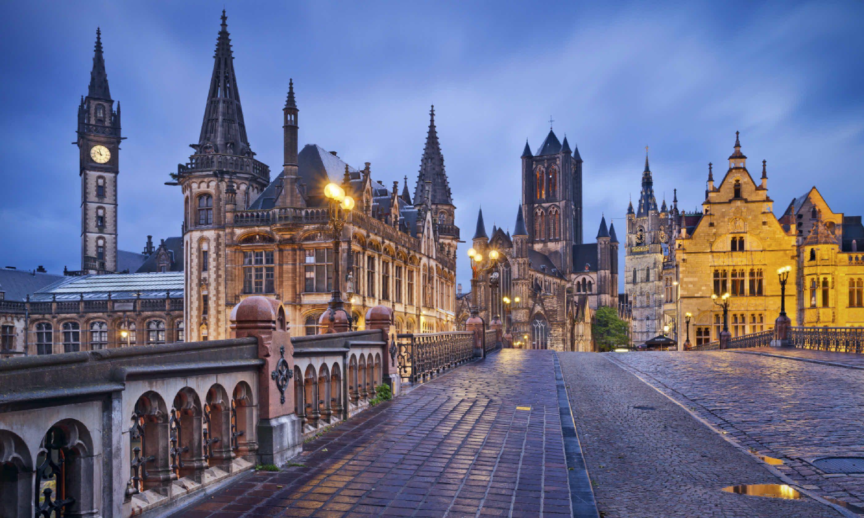Ghent, Belgium (Shutterstock)