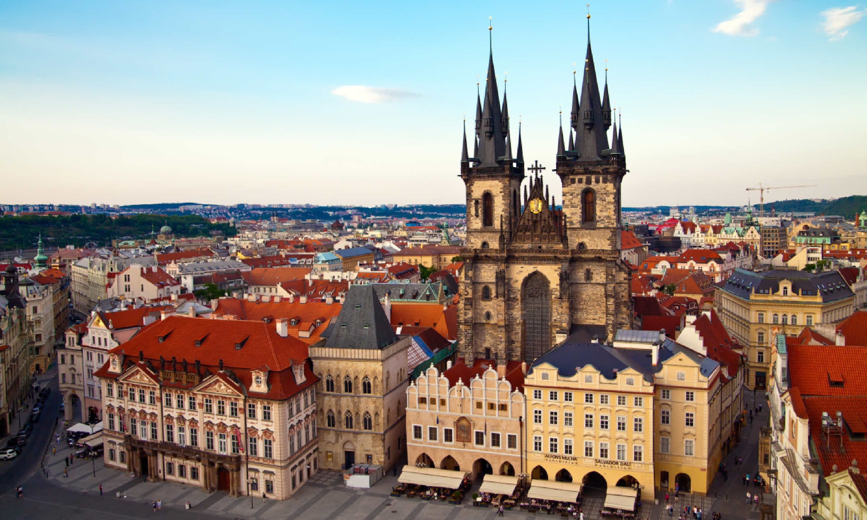Tyn Church in Prague (Shutterstock)