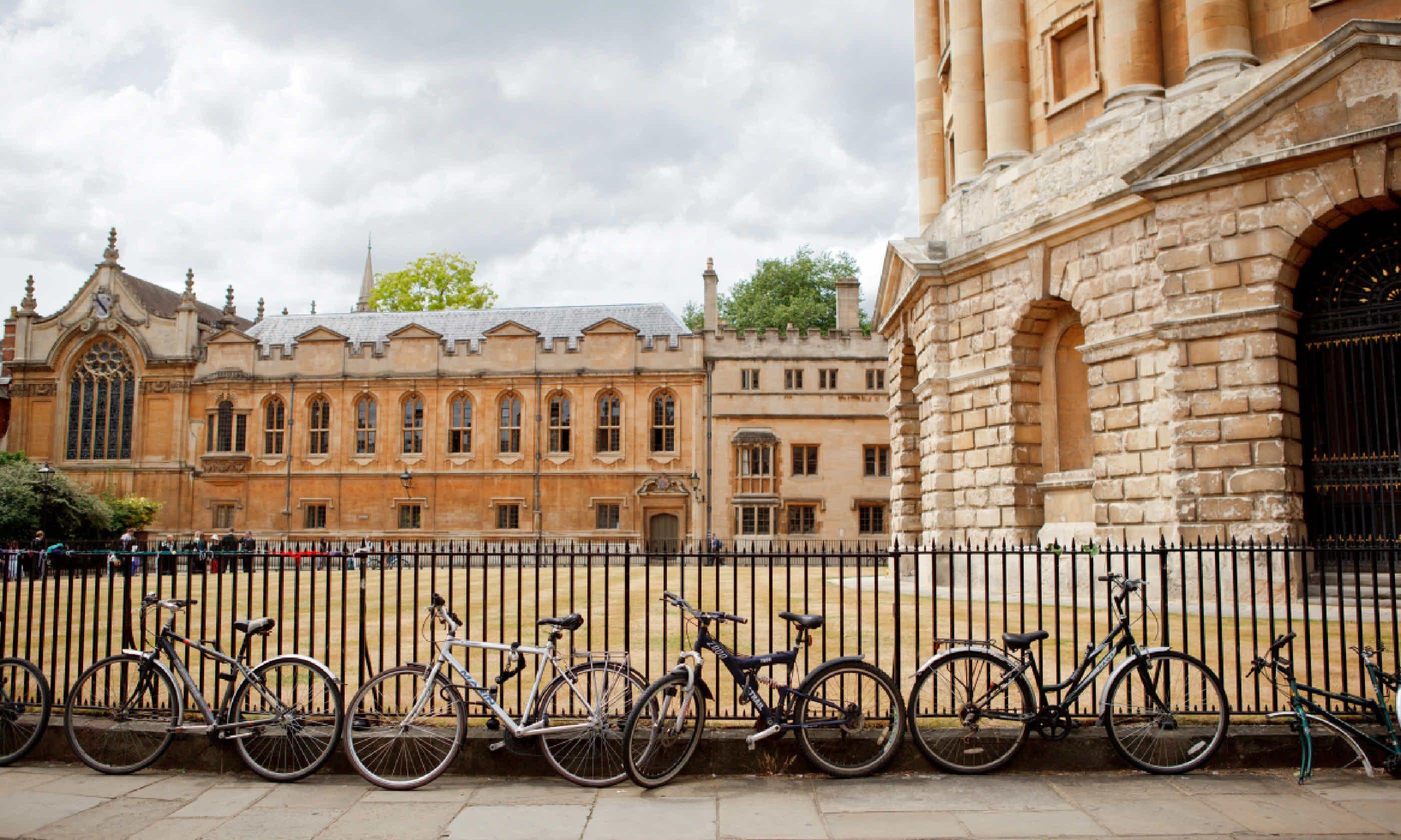 Oxford University, England (Shutterstock)