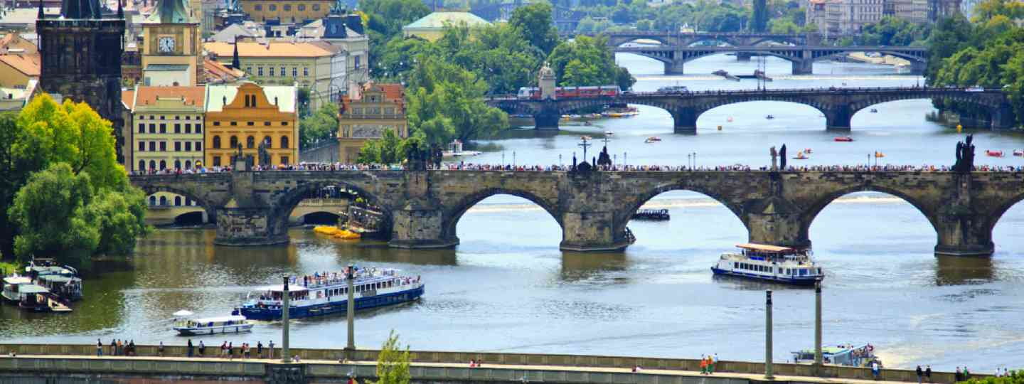 View of Prague (Shutterstock: see credit below)
