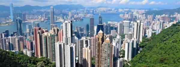 Hong Kong's skyline has featured in many films (dreamstime)