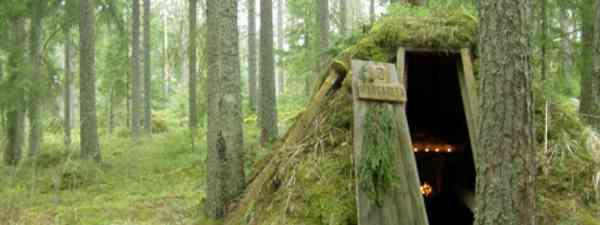 Forest hut at Kolarbyn (Photo: Lasse Fredriksson)