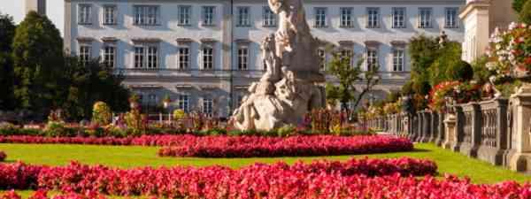 Salzburg's Mirabell Gardens (image: dreamstime_30533692)