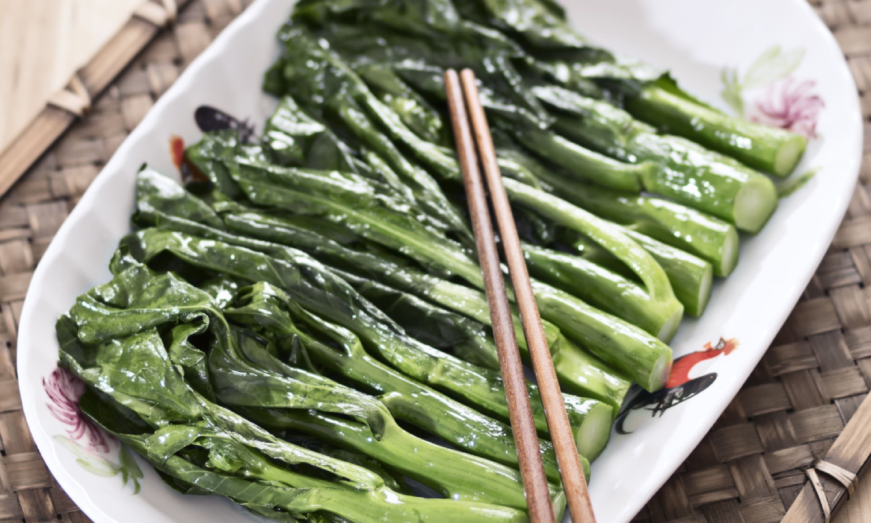 Chinese broccoli (Shutterstock)