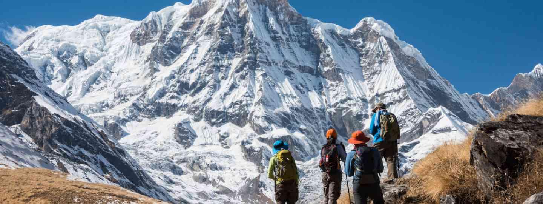 Trekking in Annapurna region (Shutterstock)