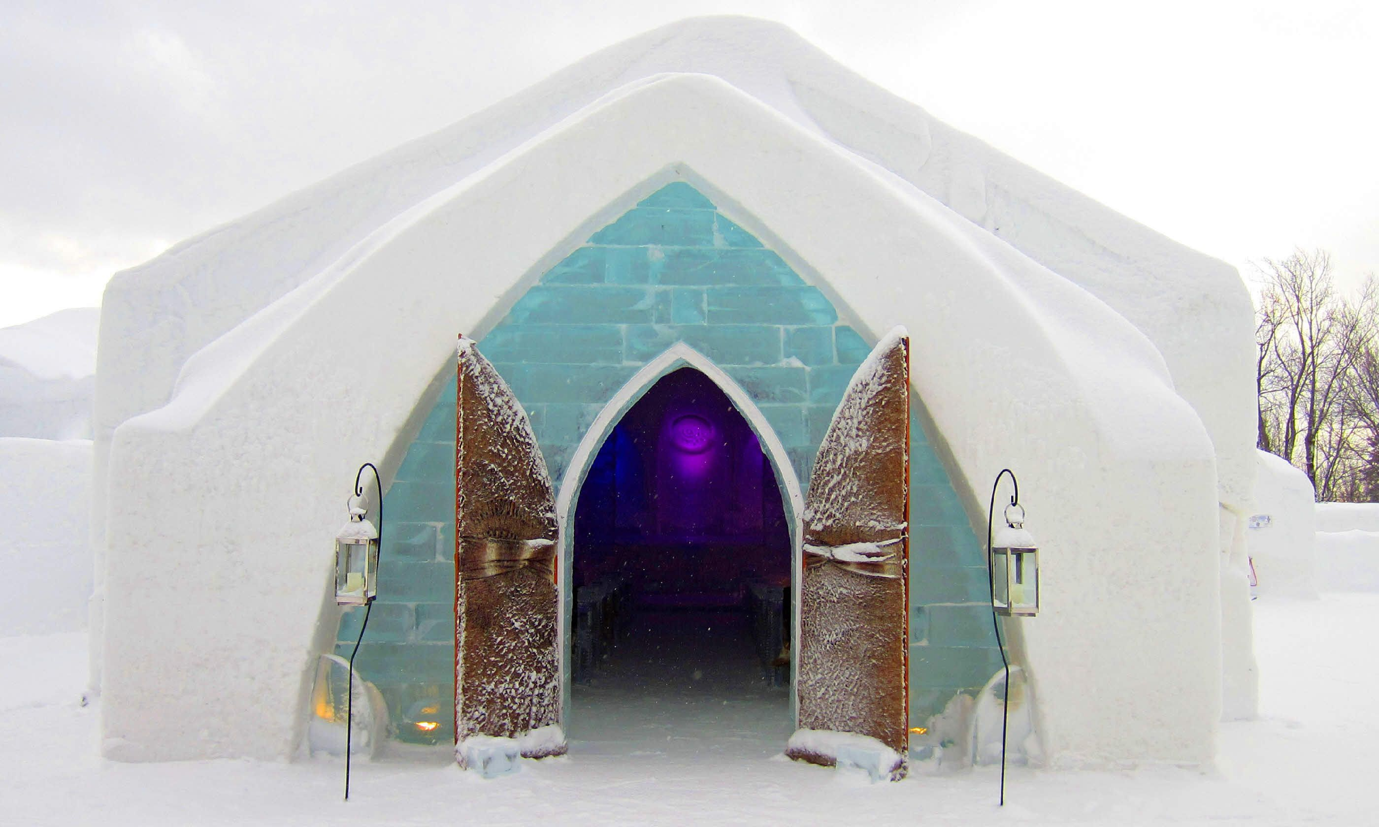 Winter at the Hotel de Glace (Shutterstock)