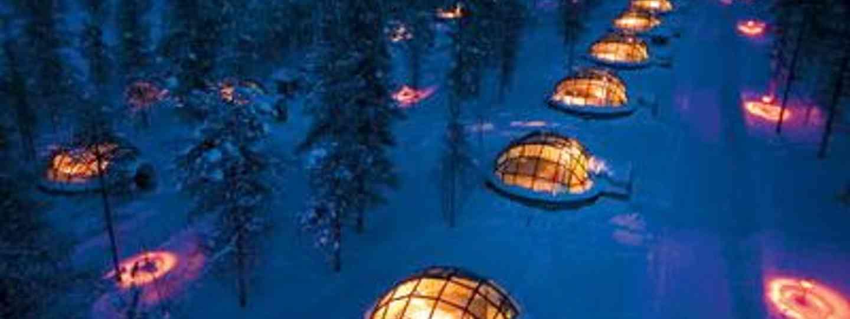Warm ways to watch the Northern Lights (Image: Hotel Kakslauttanen)