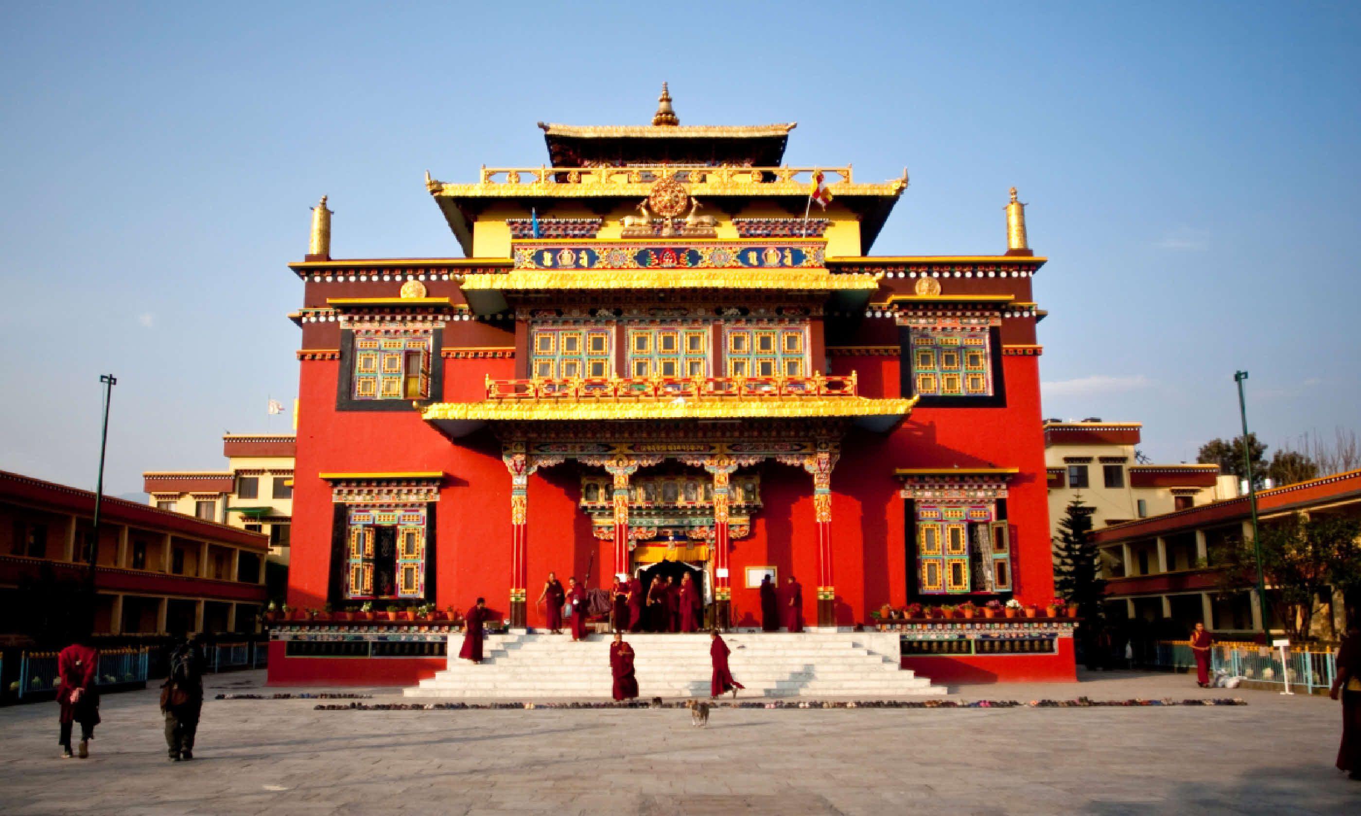 Shechen monastery in Kathmandu, Nepal (Shutterstock)