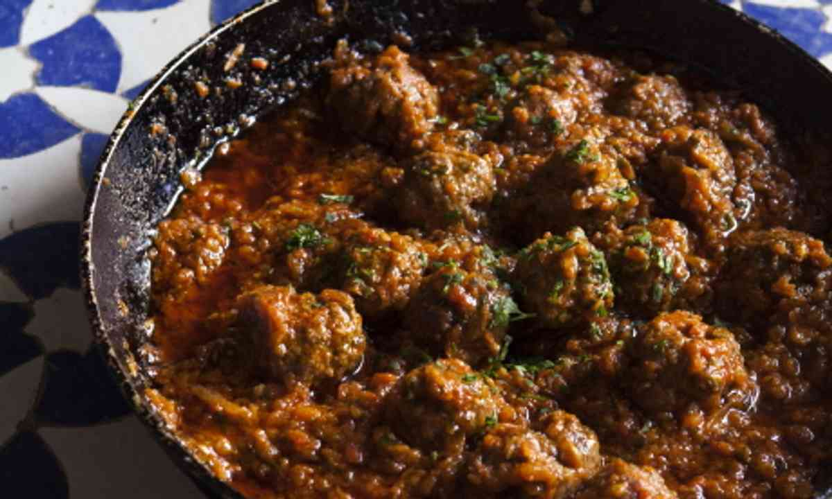 Meatballs (Colour of Maroc)