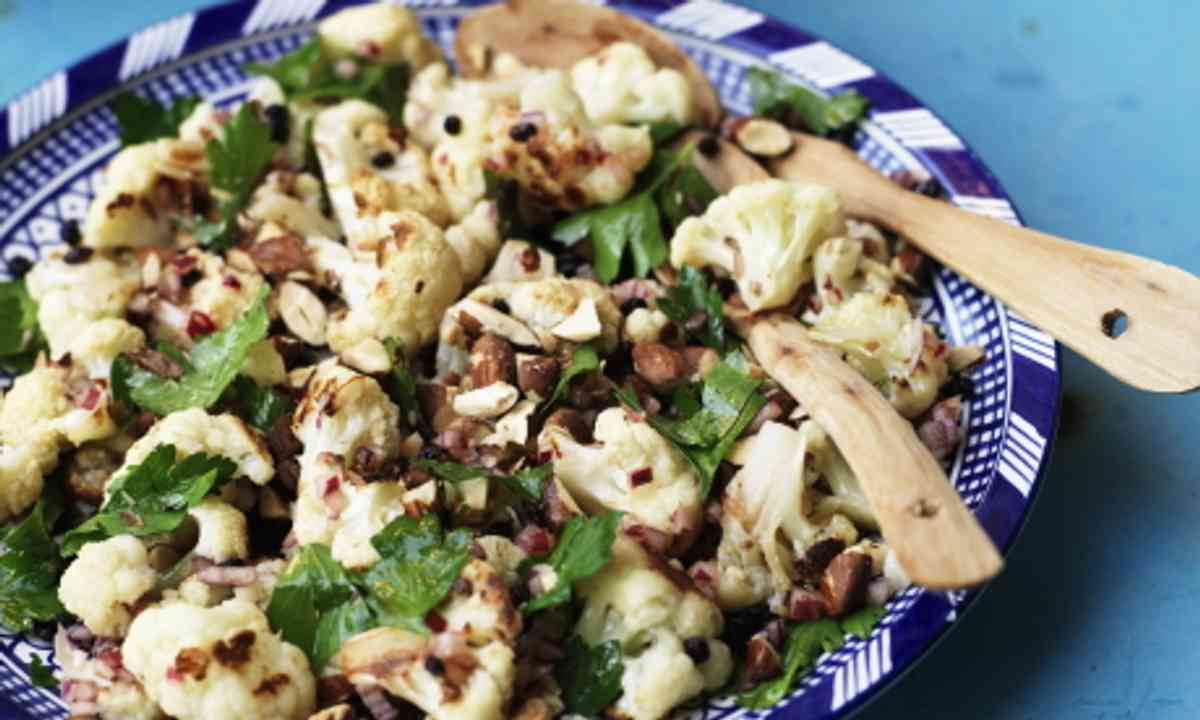 Cauliflower salad (Colours of Maroc)