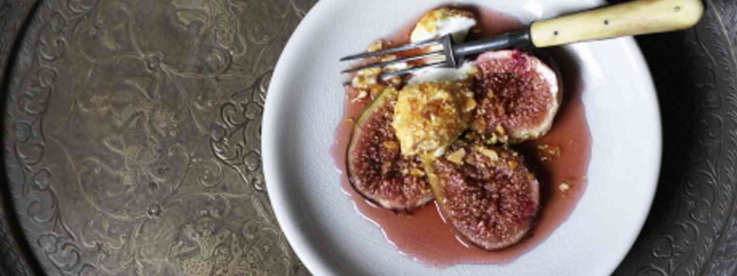 Honey Roasted Figs (Colour of Maroc)