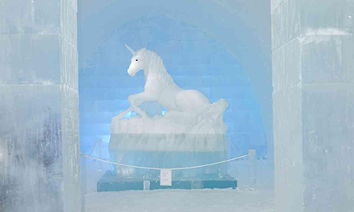 Ice Unicorn (Peter Moore)