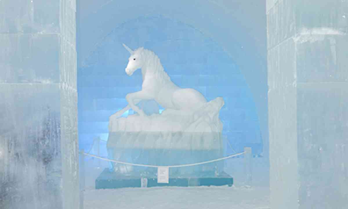 Ice Unicorn (Peter Moore)
