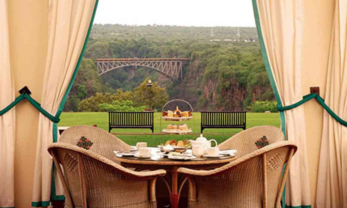 View of Victoria Falls (Victoria Falls Hotel)