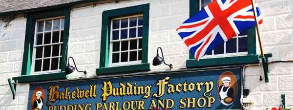 Bakewell Pudding Factory in Bakewell (Shutterstock: see credit below)