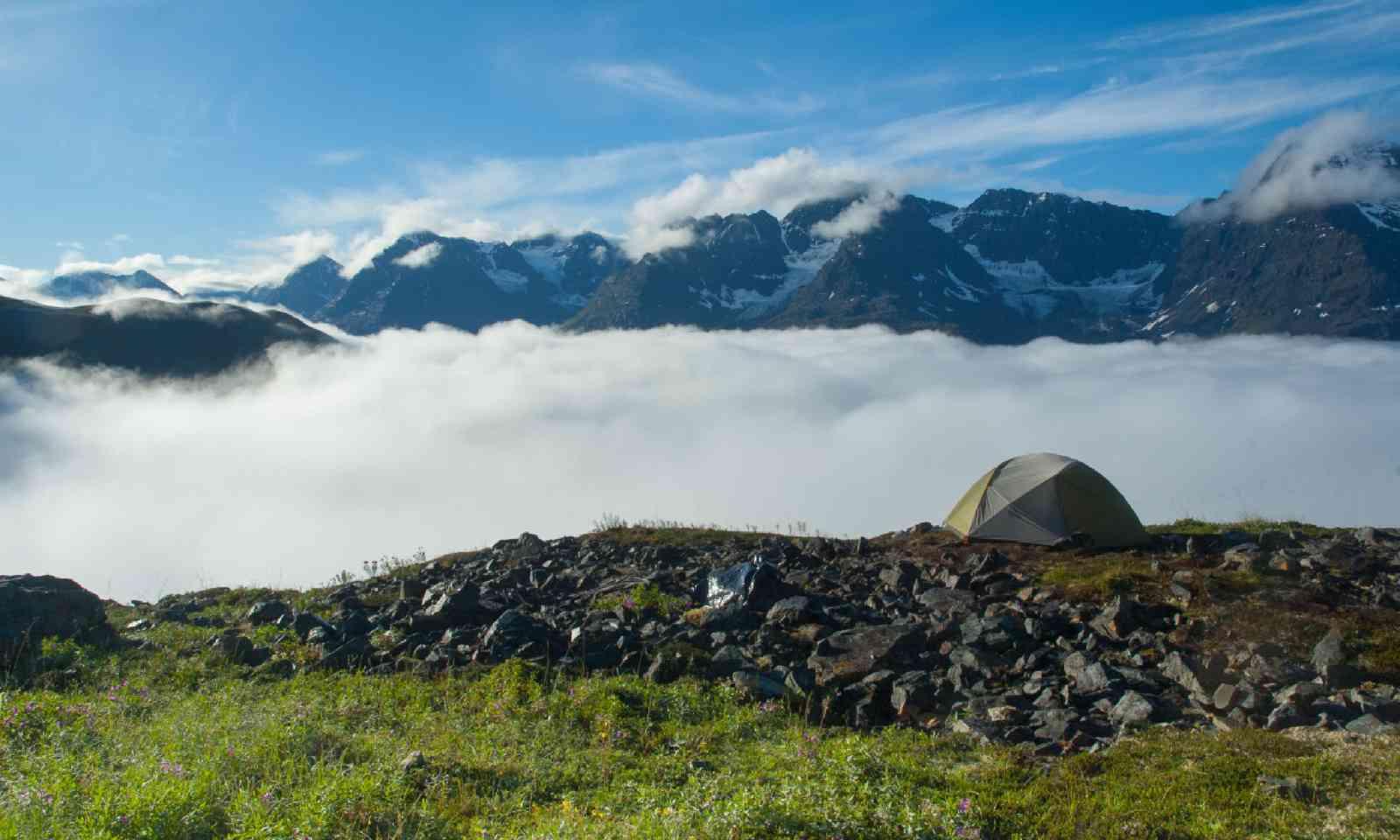 Camping in the Wrangell-St Elias National Park, Alaska (Shutterstock)