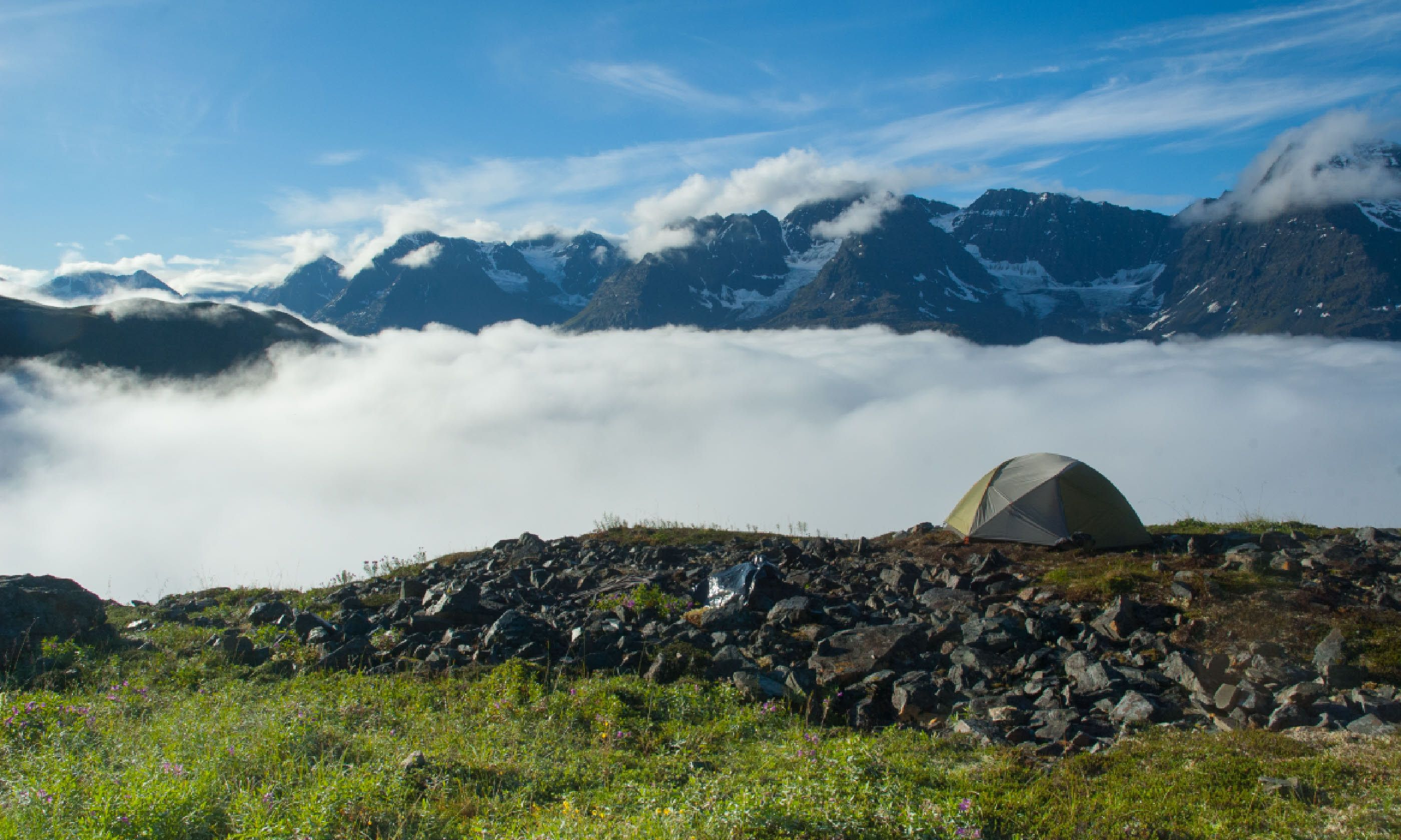 Camping in the Wrangell-St Elias National Park, Alaska (Shutterstock)