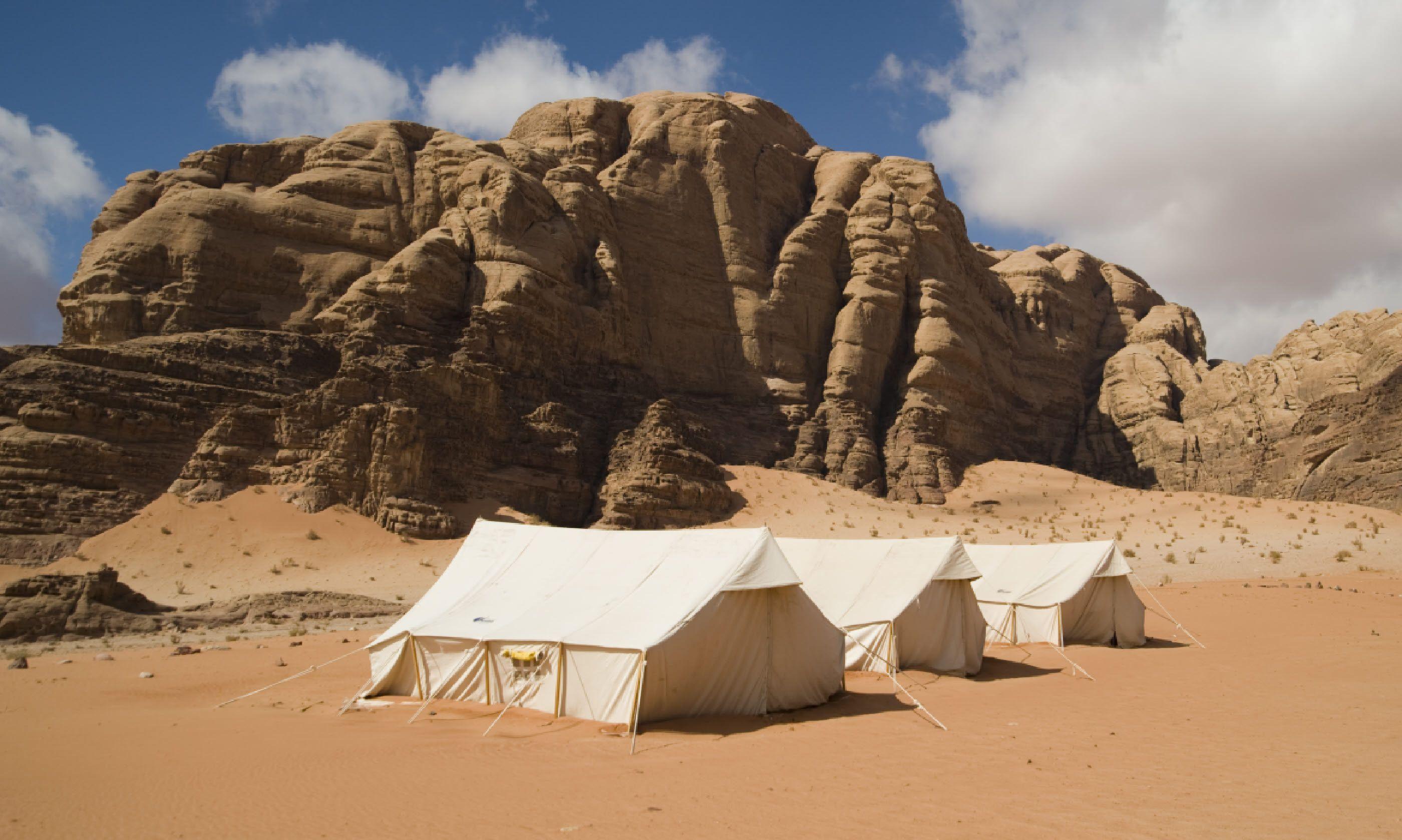Jebel Araqqa Camp, Wadi Rum (Shutterstock)