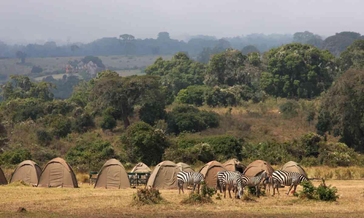 Camping in Ngorongoro (Shutterstock)