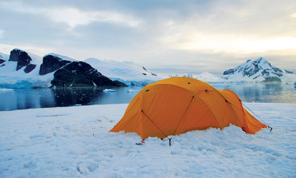 The world's most spectacular camping spots