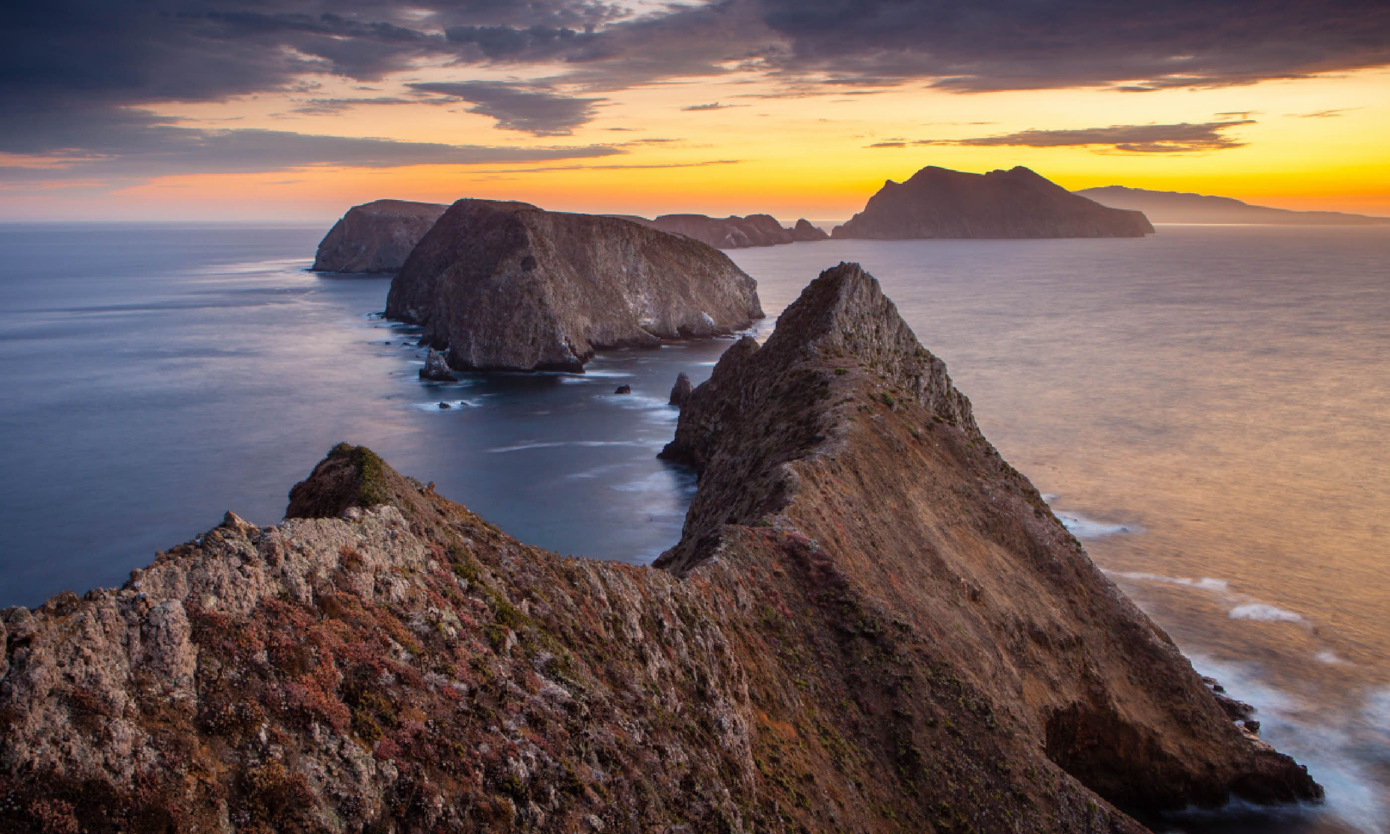 Inspiration Point on Anacapa Island, Channel Islands (Flickr Creative Commons:Brian Hawkins)