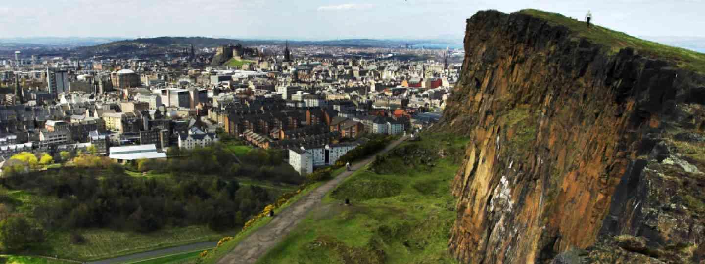 View of Edinburgh from Salisbury Crags (Shutterstock: see credit below)