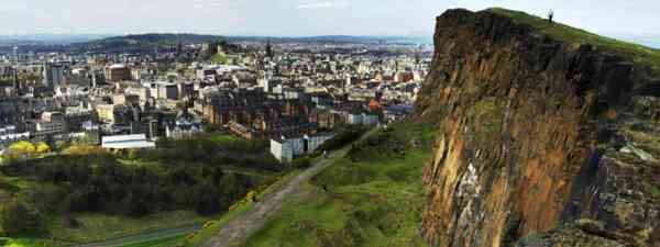 View of Edinburgh from Salisbury Crags (Shutterstock: see credit below)