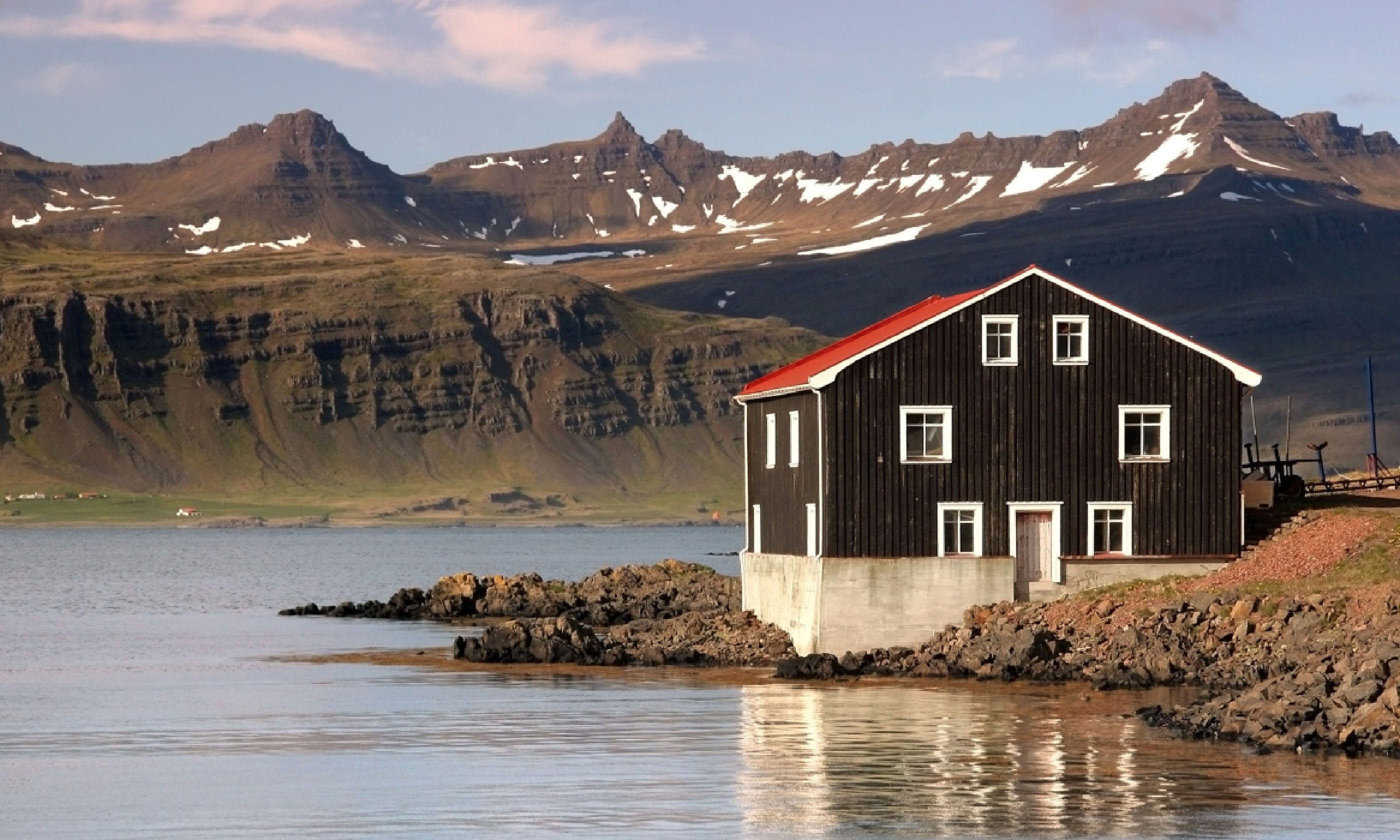 House in East Fjords, Iceland (Shutterstock)