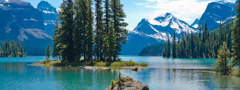 Lake Maligne, Canada (Shutterstock: see credit below)