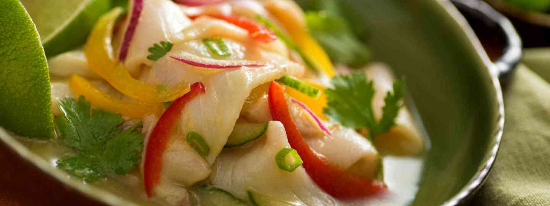 Ceviche (Shutterstock: see credit below)