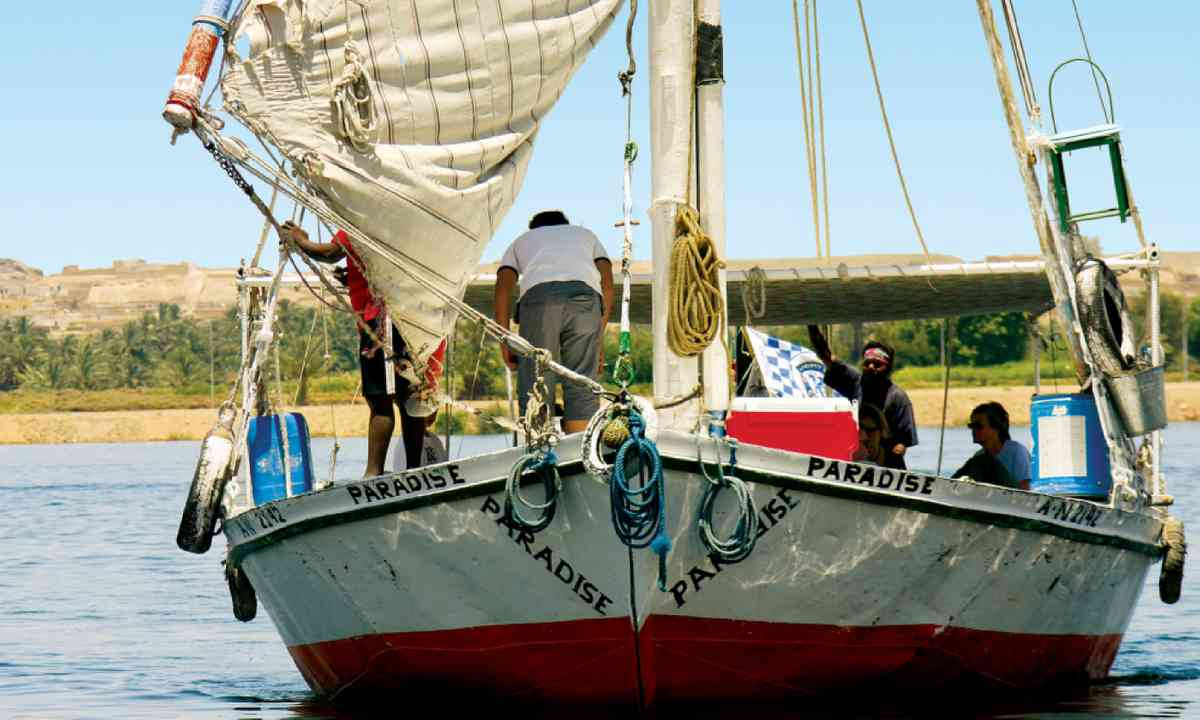 Nile Felucca Sailtrek, Explore