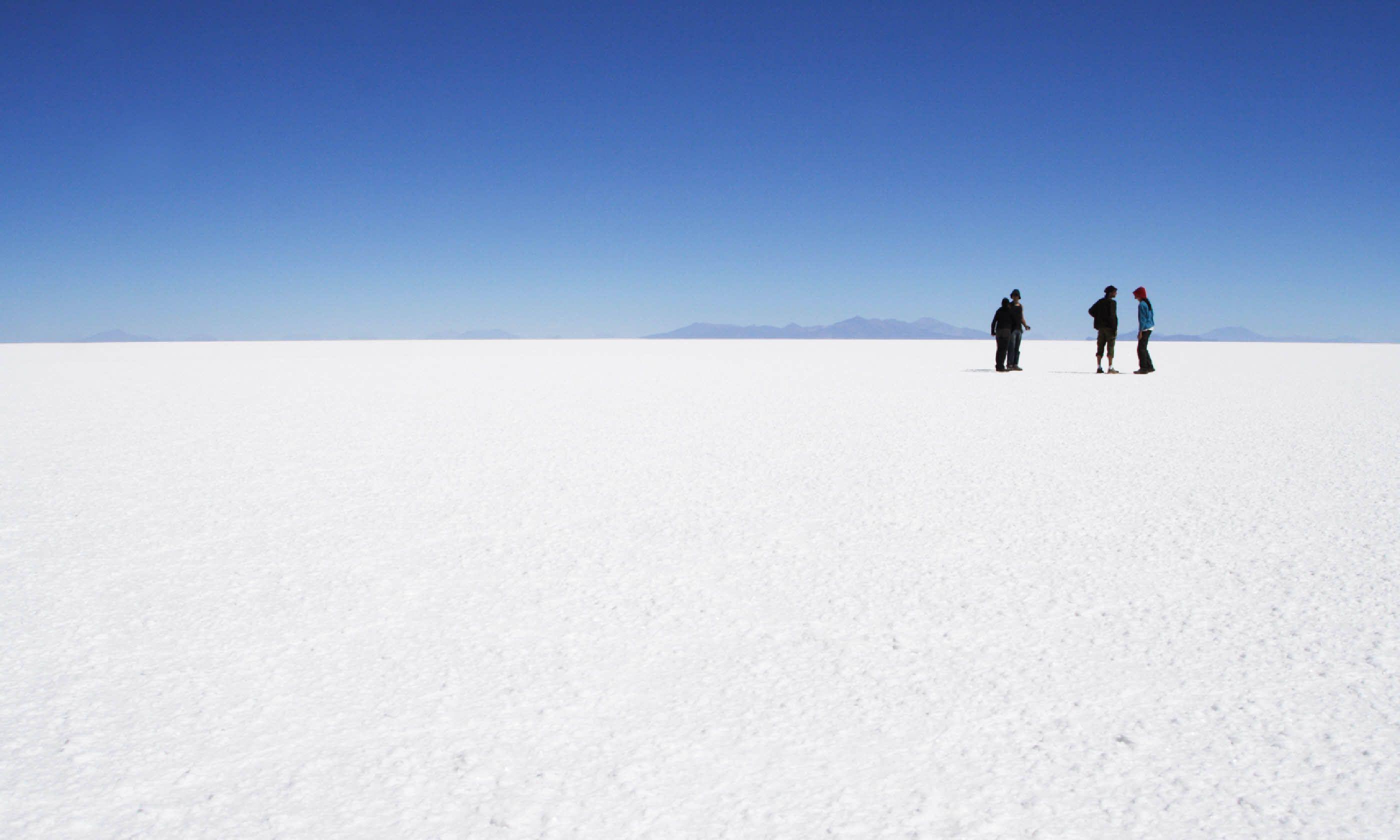 Uyuni salt lake in Bolivia (Shutterstock)