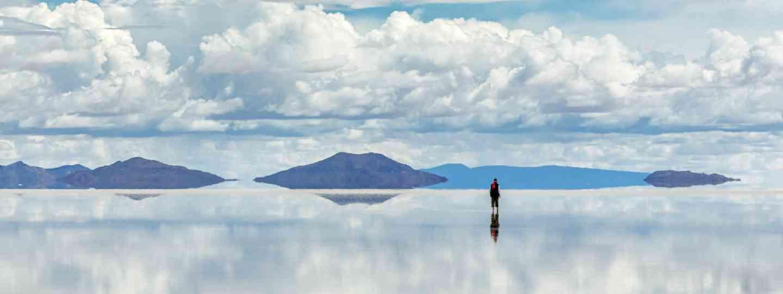Salt flats Altiplano, Bolivia (Shutterstock: see credit below)
