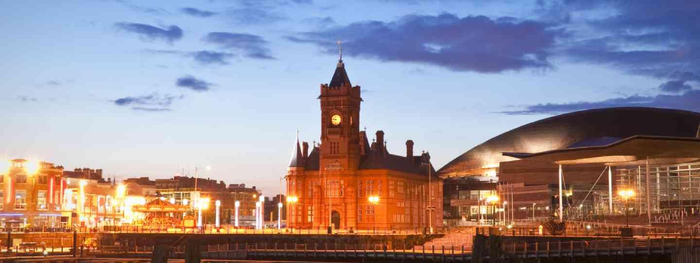 Cardiff Bay (Shutterstock: see credit below)