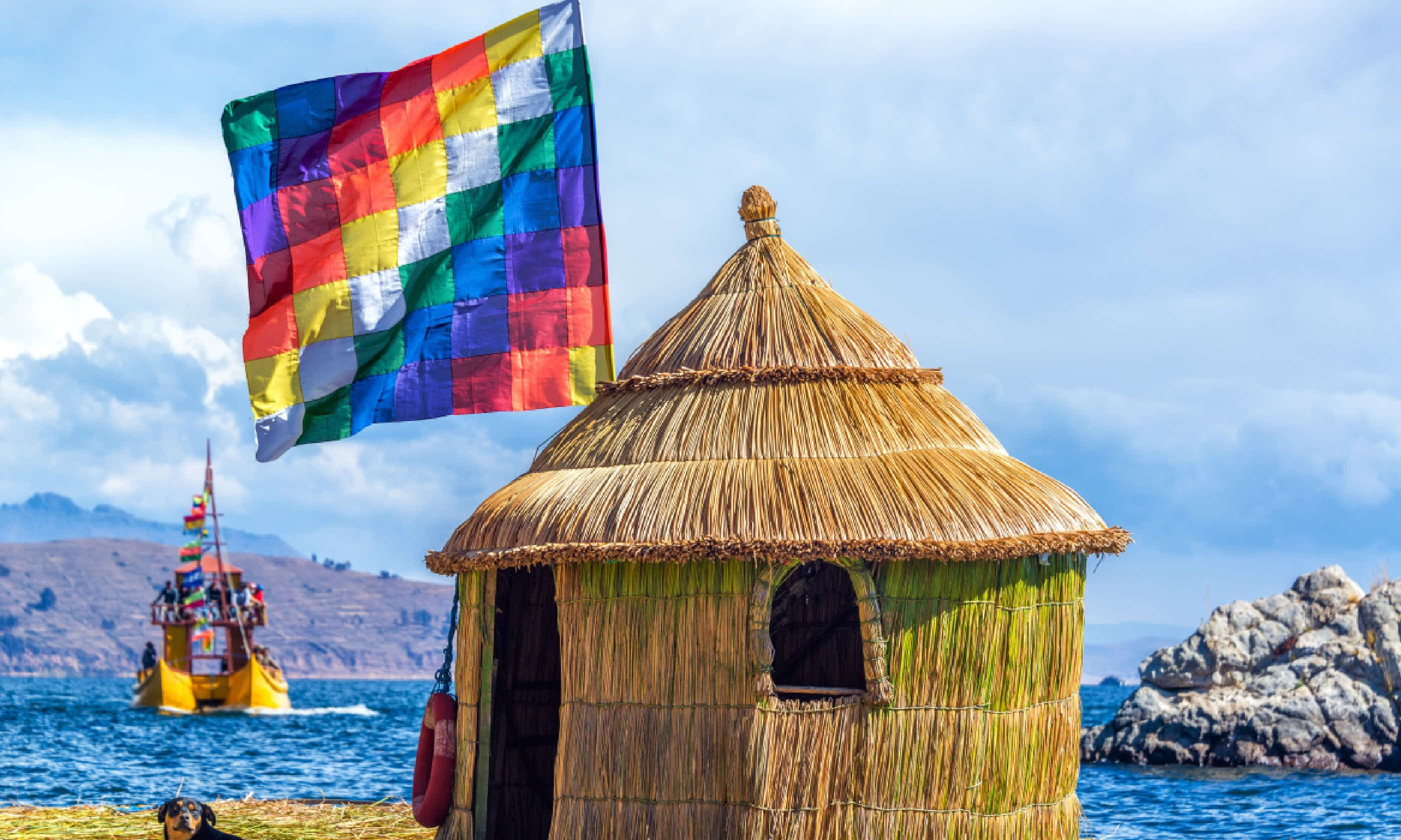 Floating island on Lake Titicaca (Shutterstock)