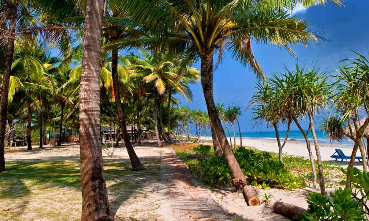 Tropical beach, Burma (Shutterstock)