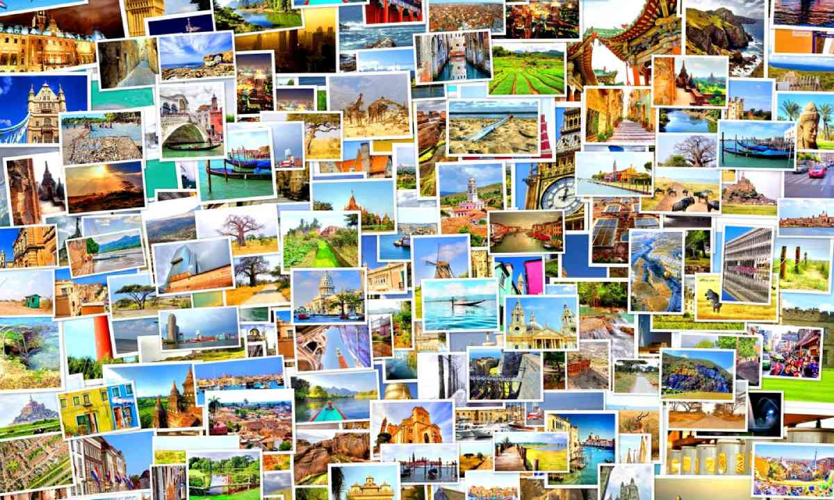 Collection of postcards (Shutterstock)
