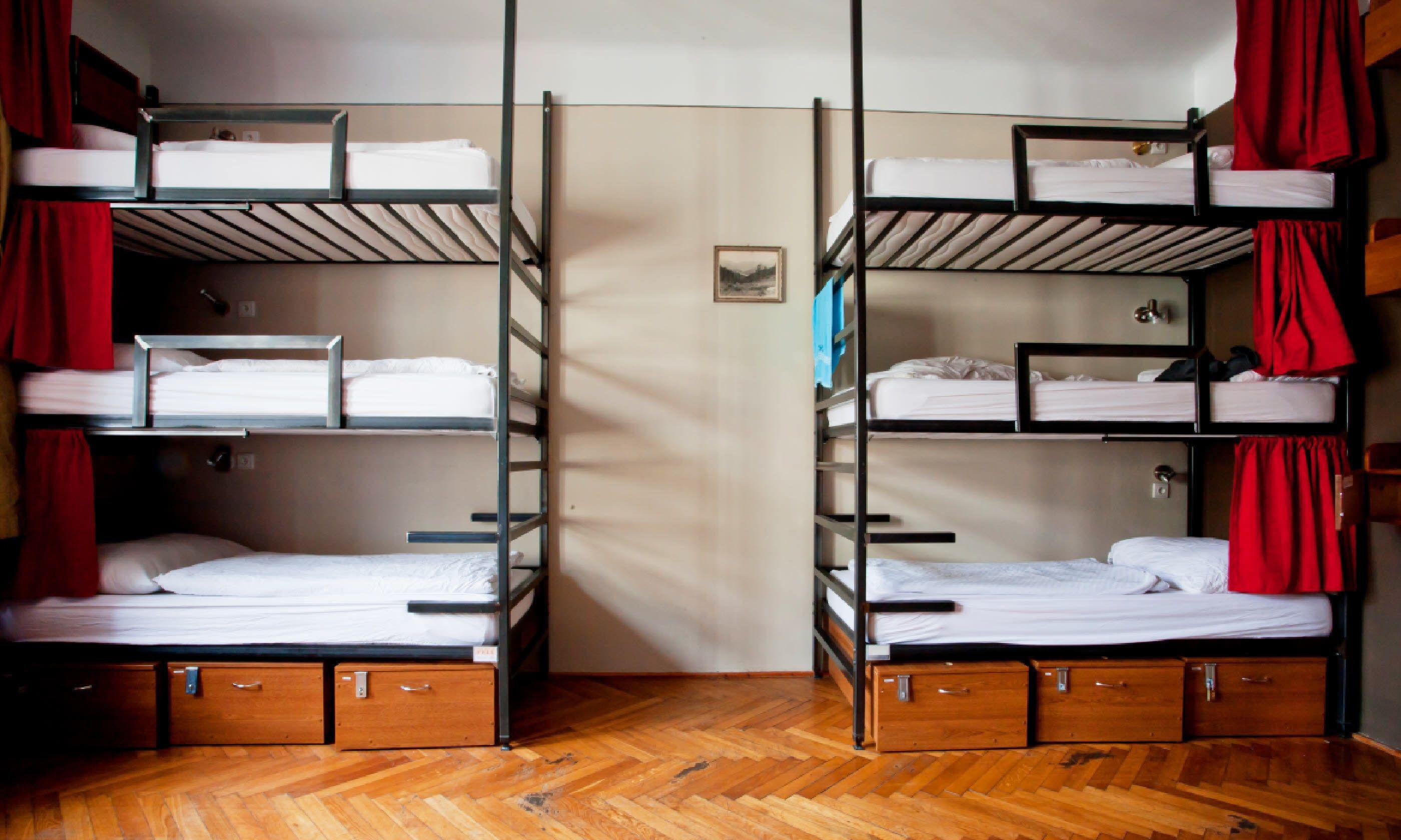 Hotel beds, Prague (Shutterstock)