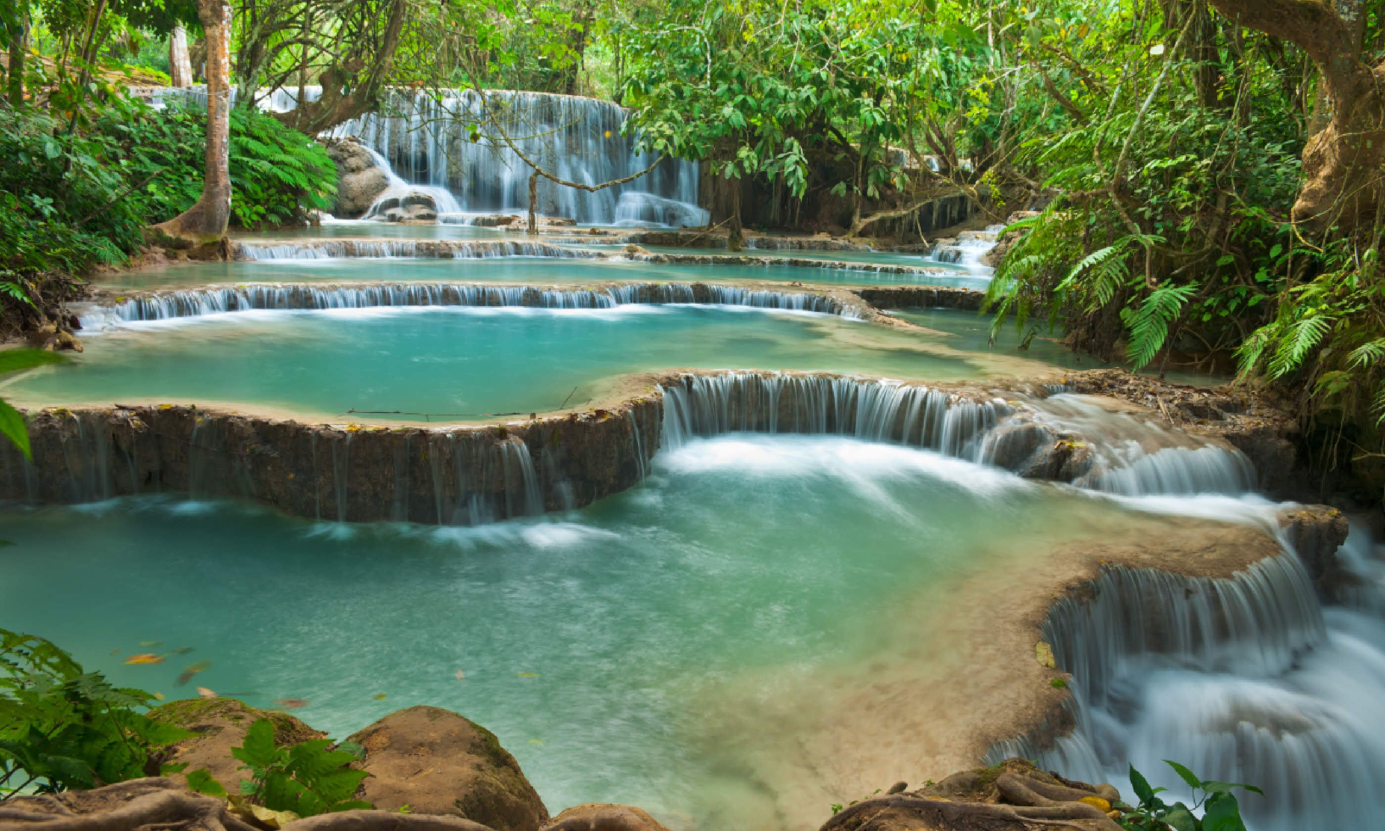 Kuang Si waterfall, Luang Prabang (Shutterstock)