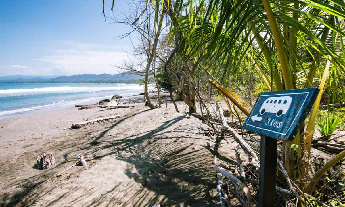 Beach in Cahuita National Park (Shutterstock)
