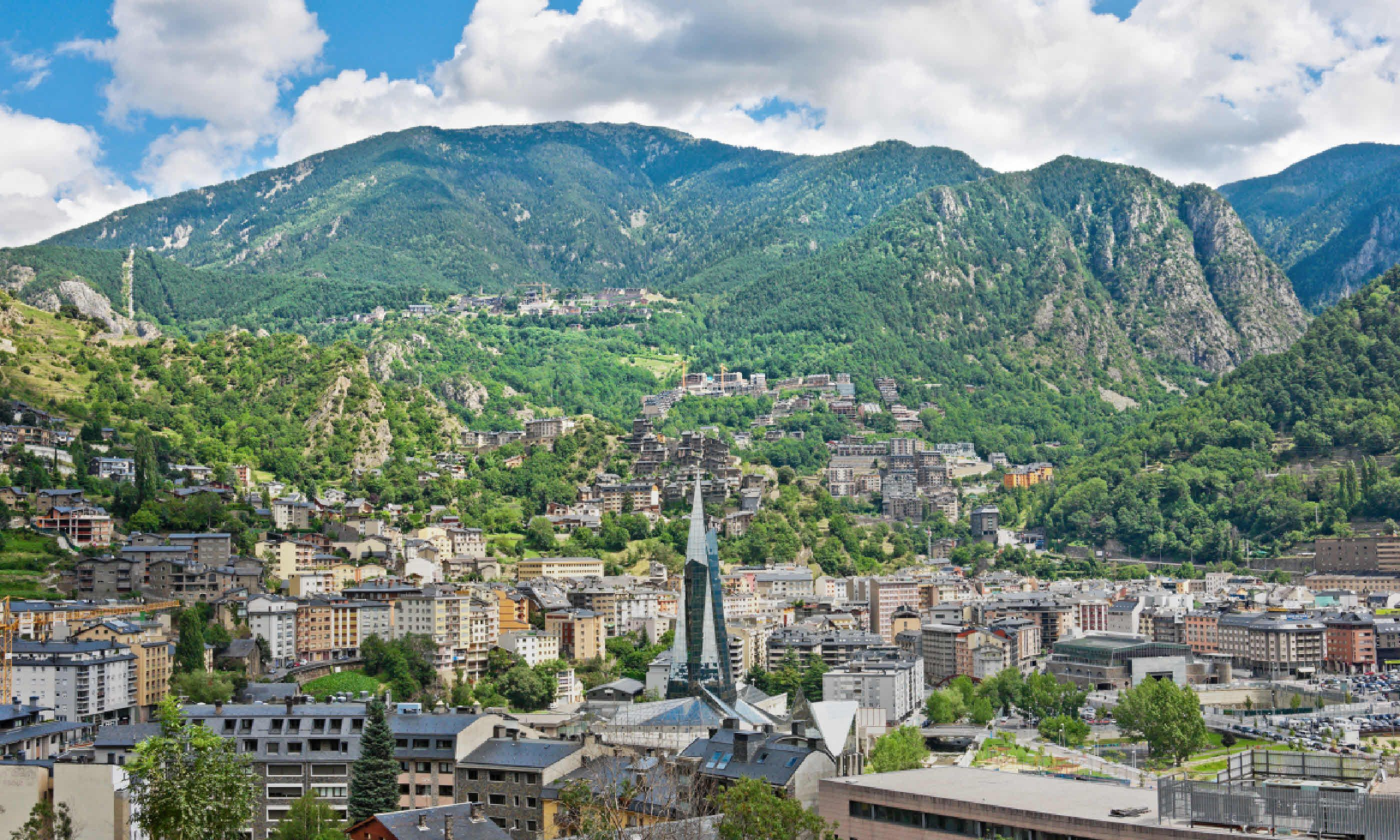 Andorra la Vella, Andorra (Shutterstock)