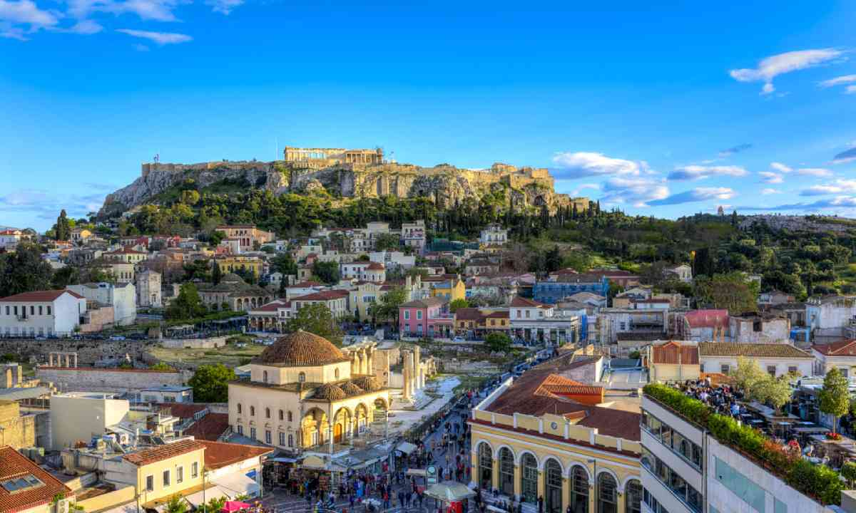 Acropolis in Athens (Shutterstock)