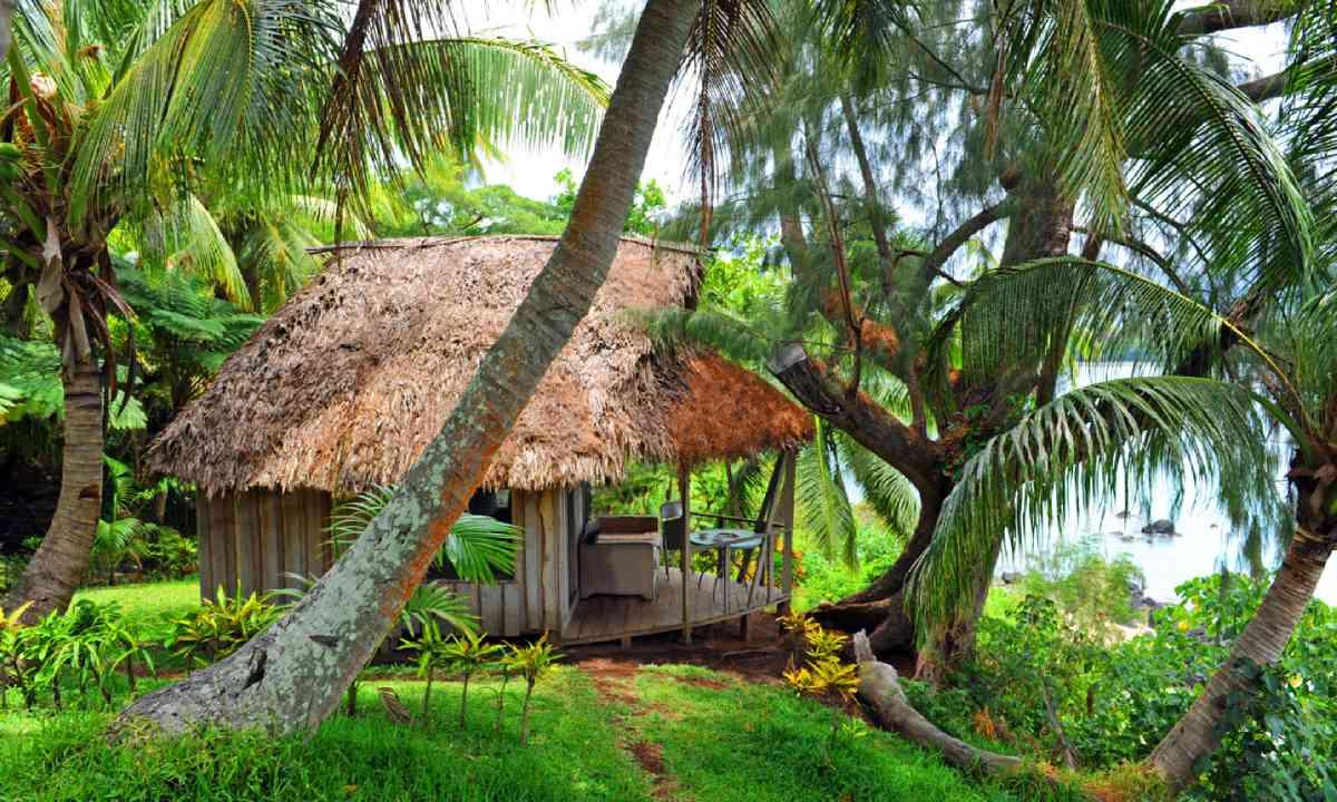 Cottage at the Bay of Port Resolution, Tanna, Vanuatu (Shutterstock)