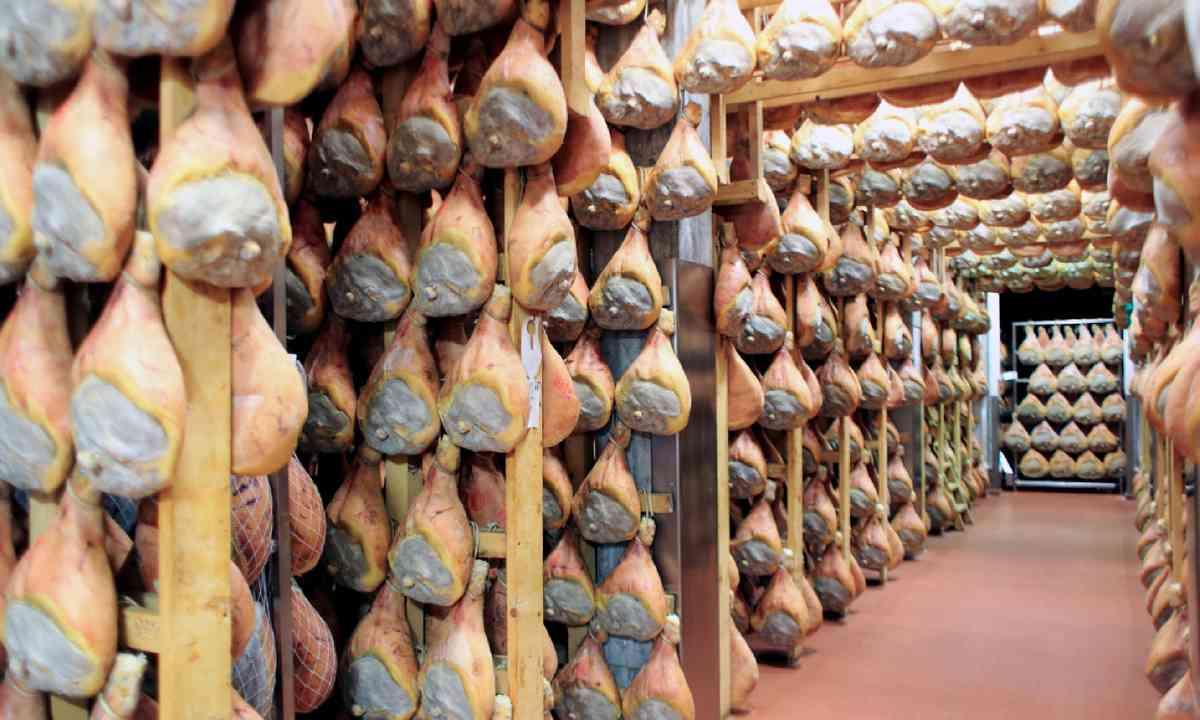 Ageing Parma ham (Shutterstock)