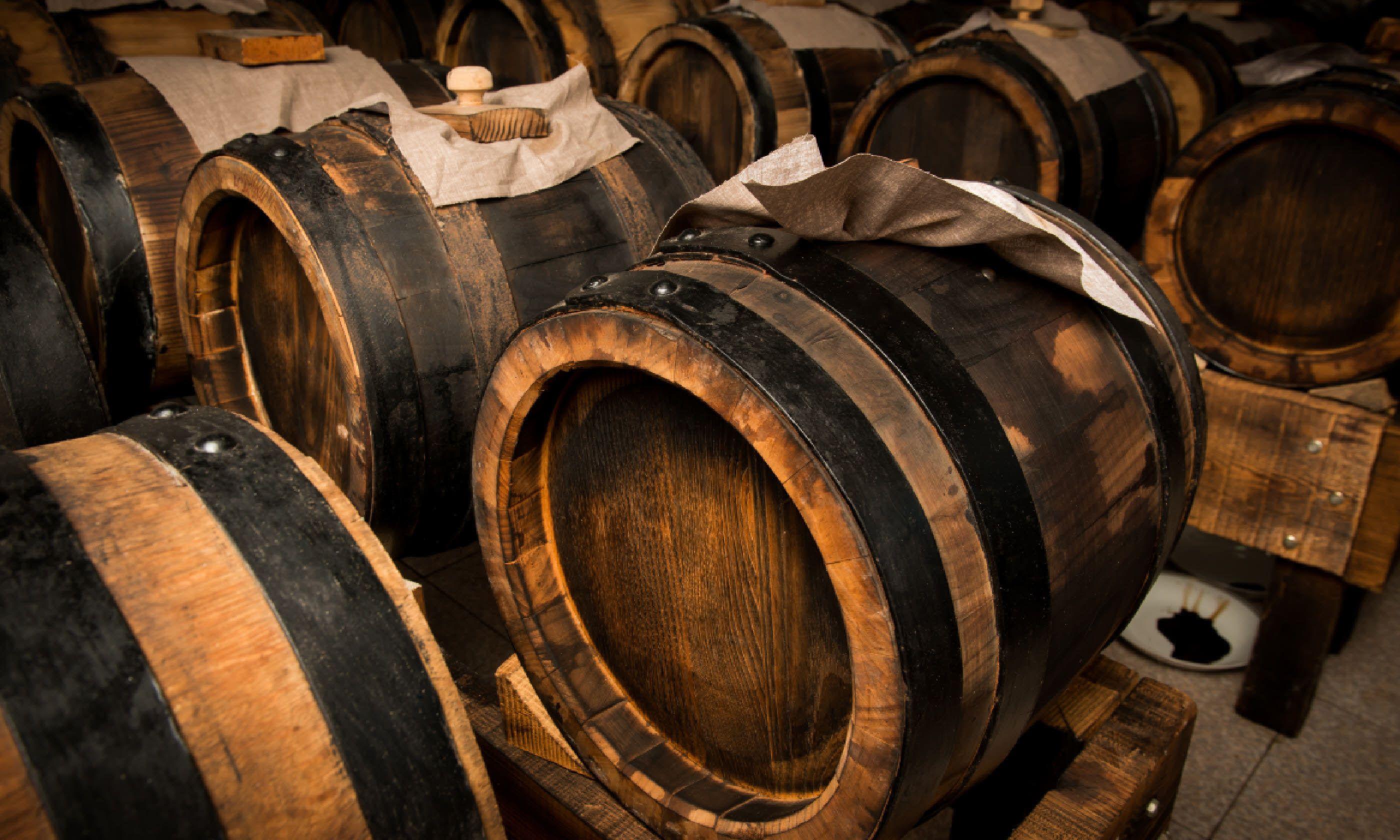 Balsamic vinegar barrels (Shutterstock)