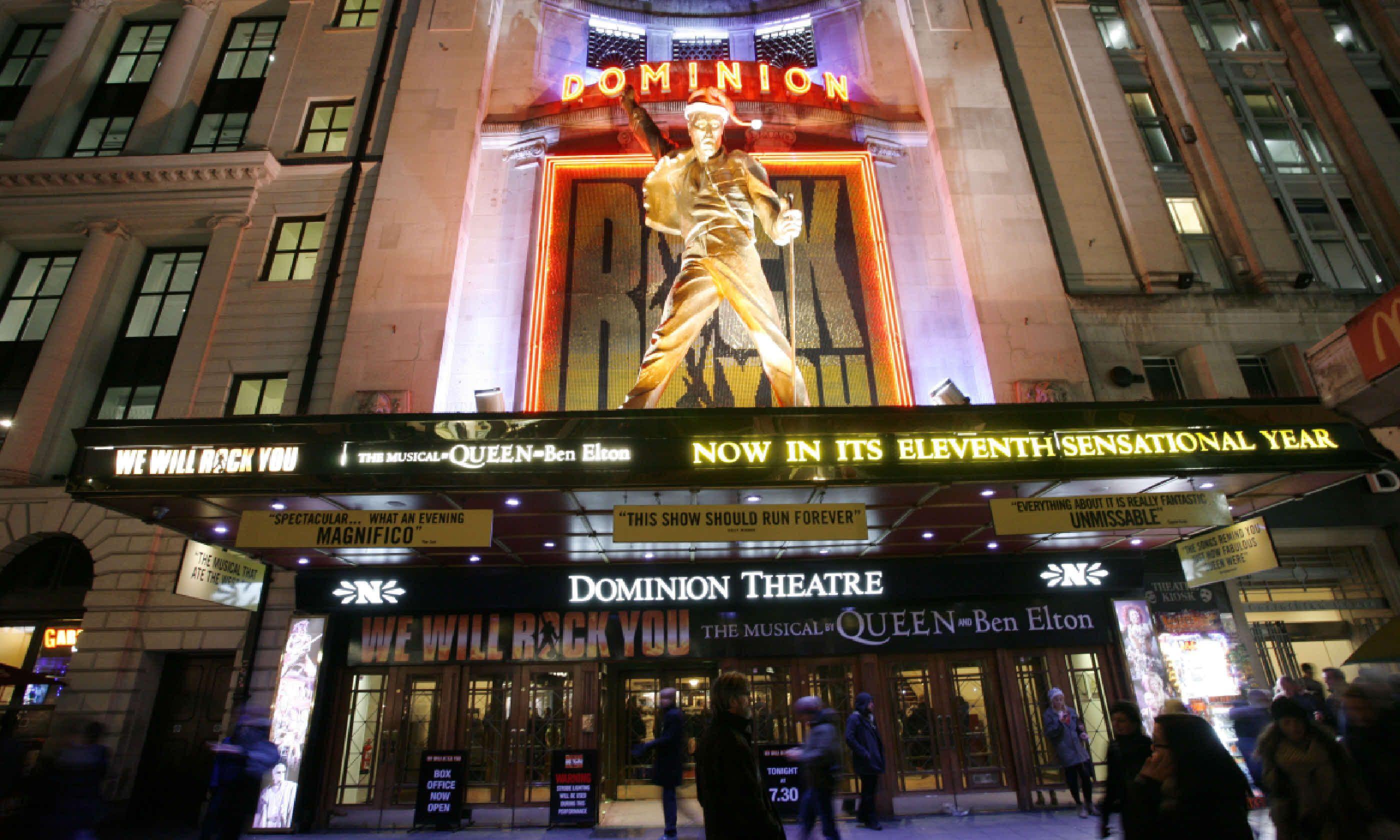 Dominion Theatre, London (Shutterstock)