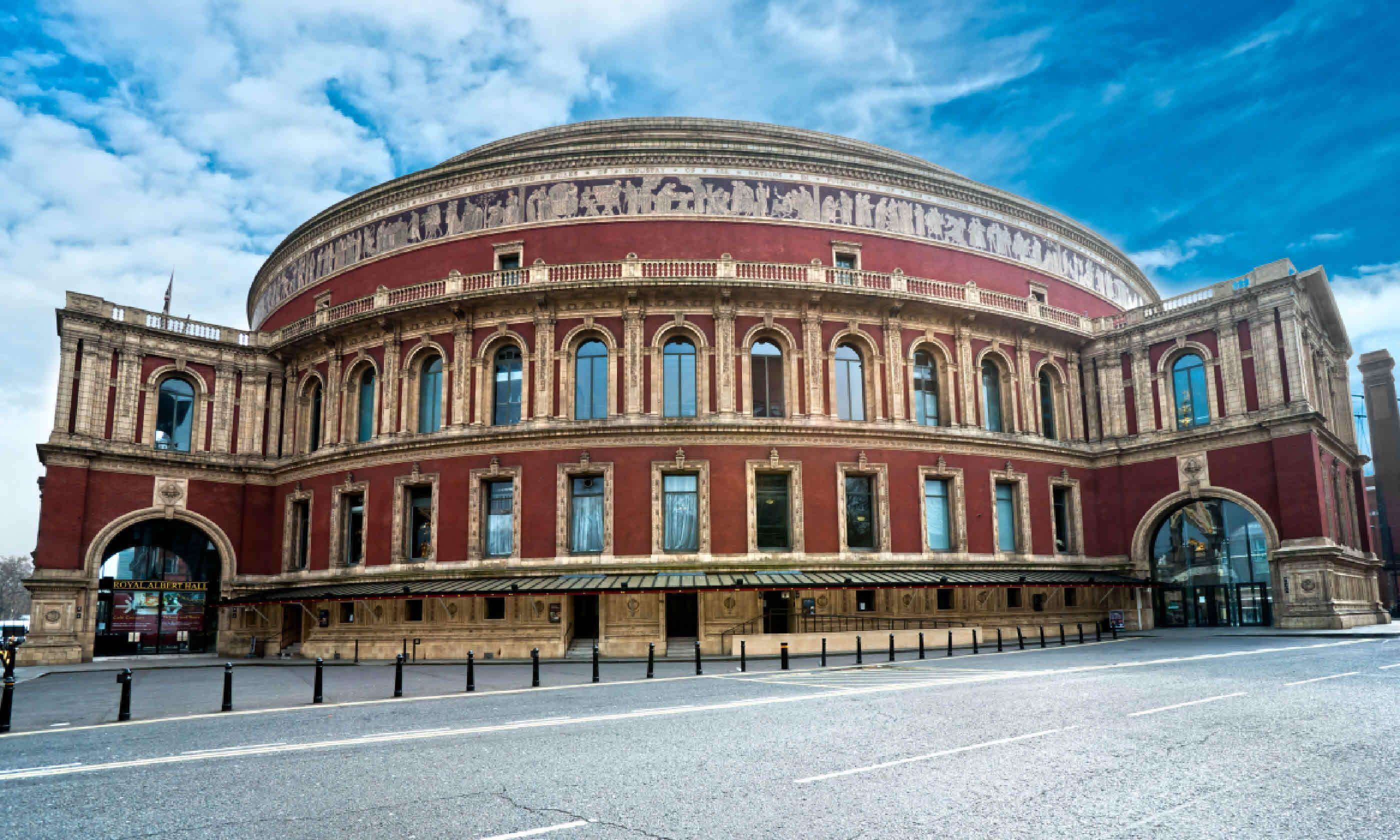 Royal Albert Hall, London (Shutterstock)
