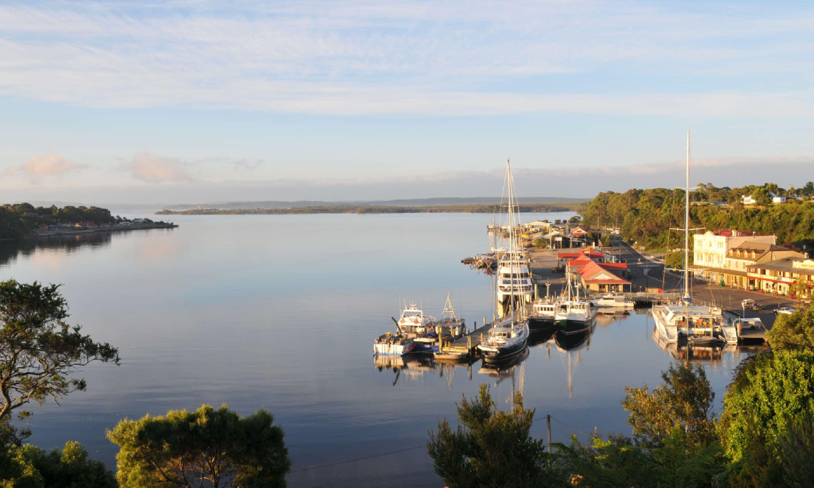 Strahan Village in Tasmania (Shutterstock)